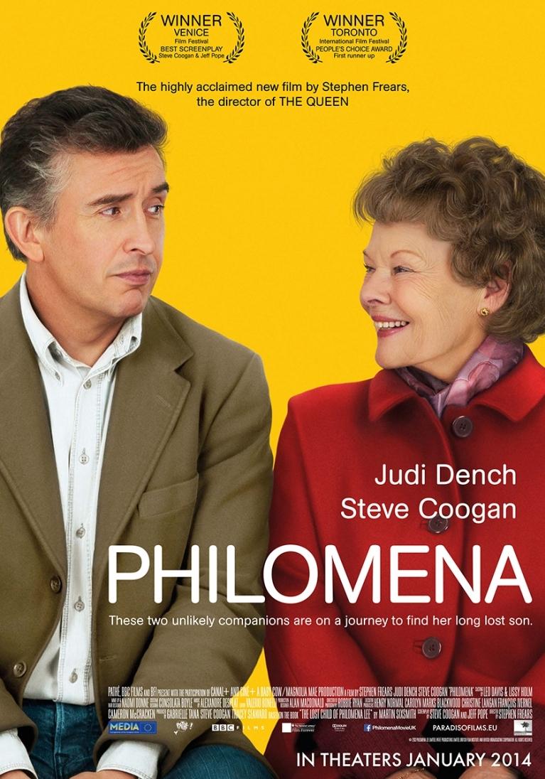 Philomena poster, © 2013 Paradiso