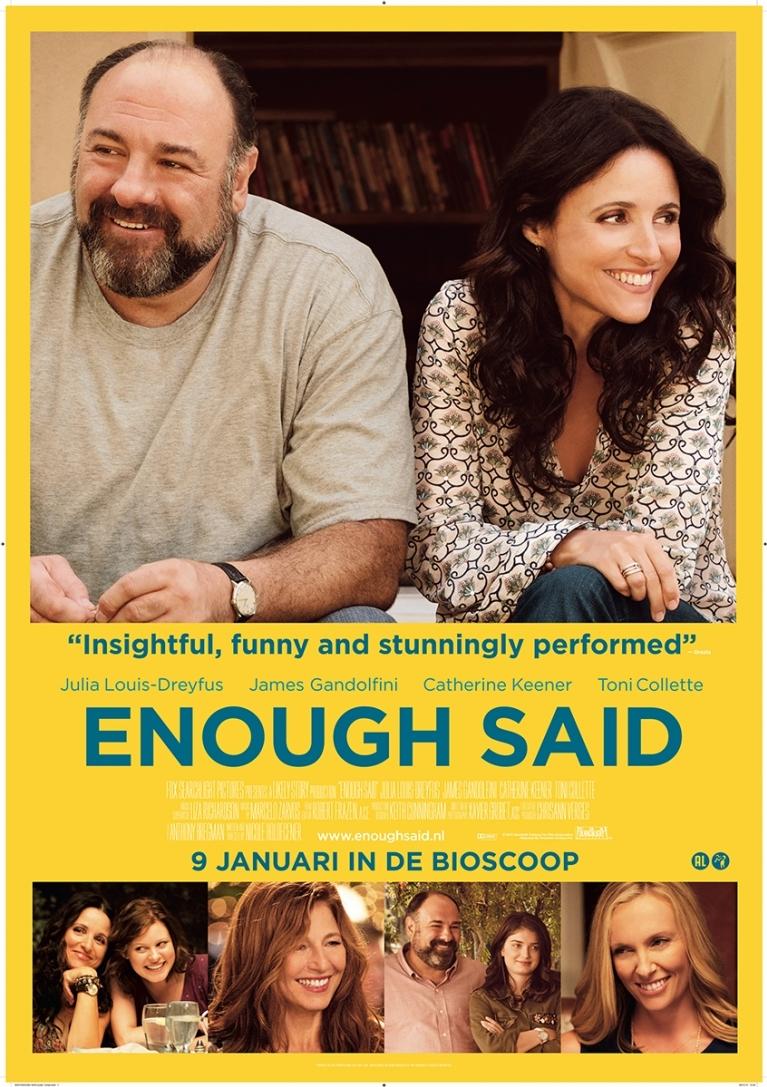 Enough Said poster, © 2013 20th Century Fox