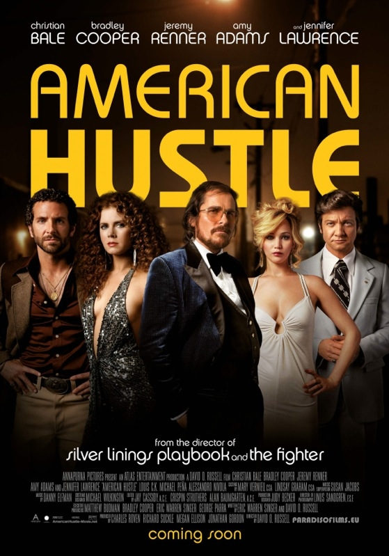 American Hustle poster, © 2013 Paradiso