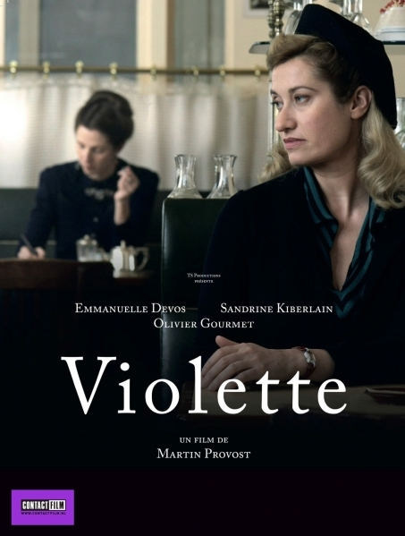 Violette poster, © 2013 Contact Film