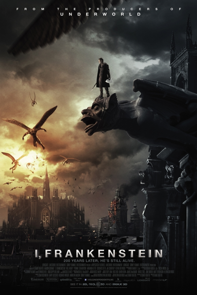 I, Frankenstein poster, © 2014 Independent Films