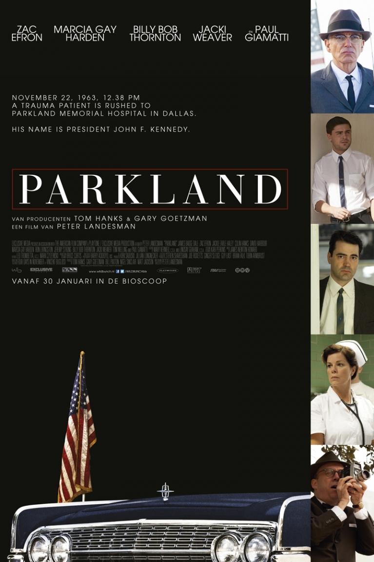 Parkland poster, © 2013 Wild Bunch