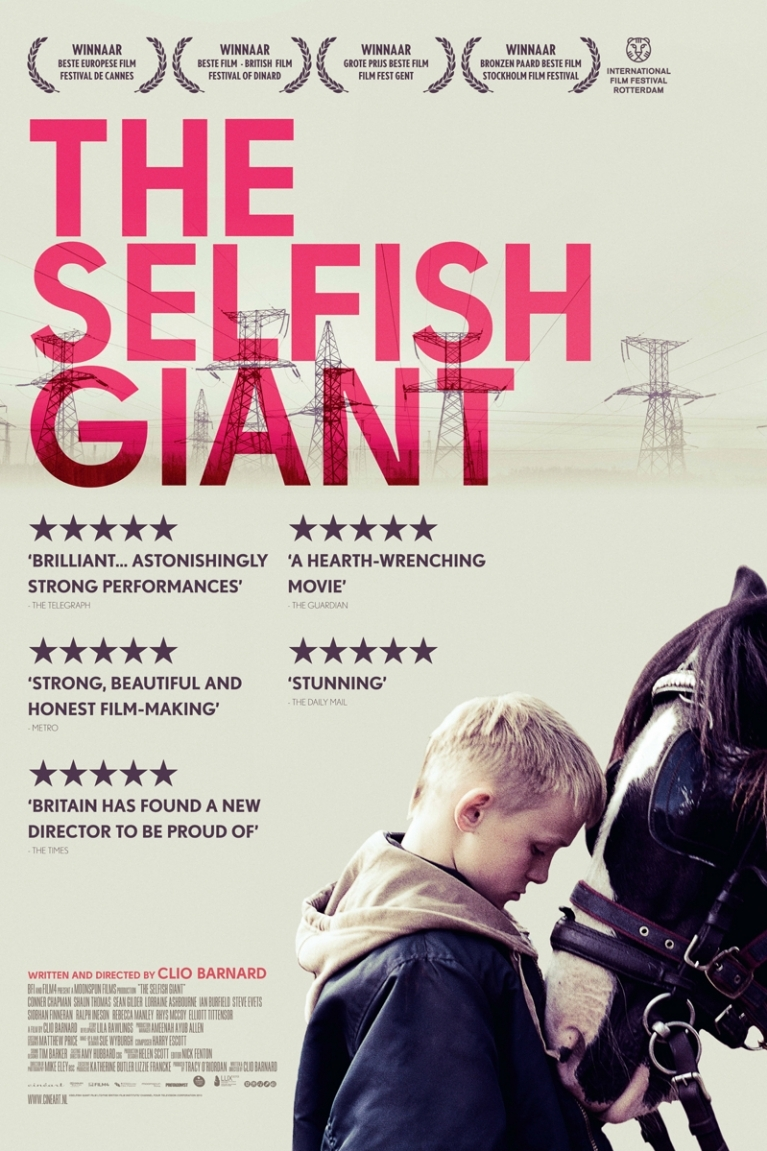 The Selfish Giant poster, © 2013 Cinéart
