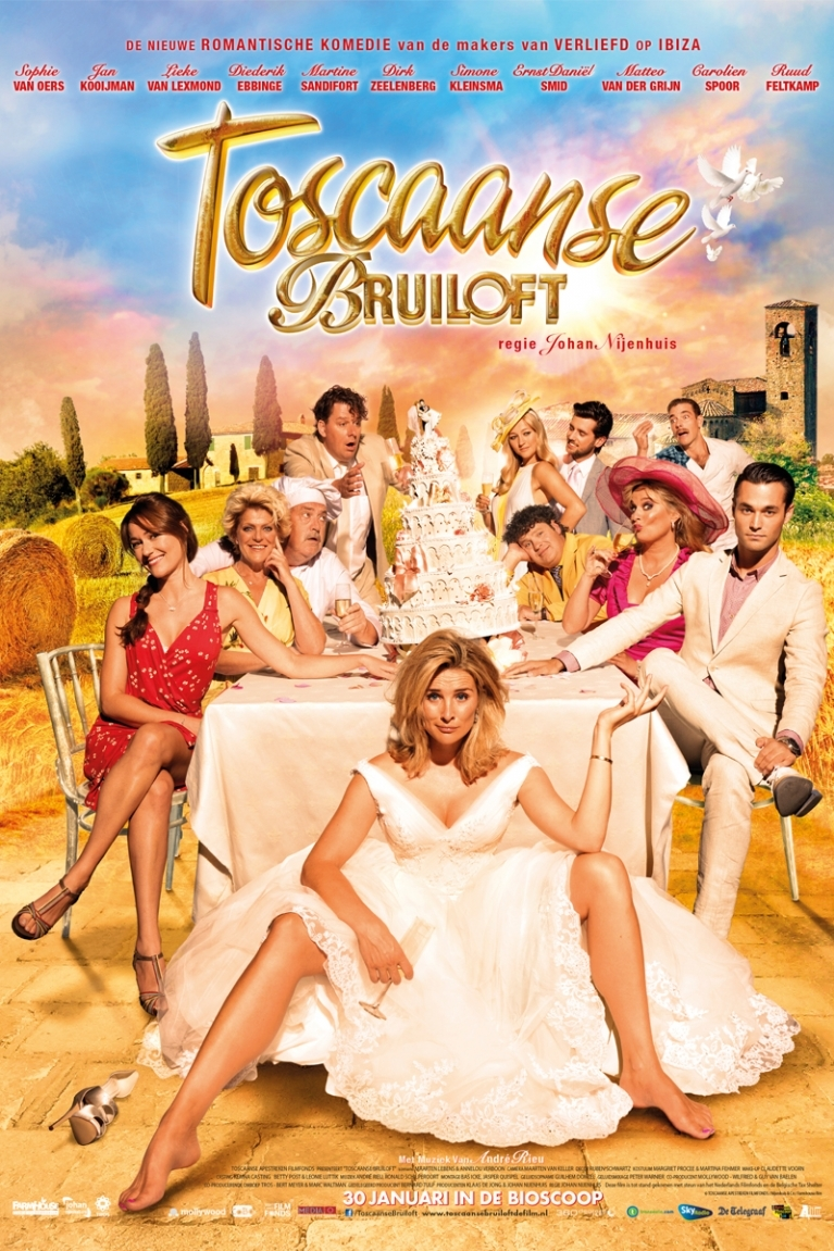 Toscaanse bruiloft poster, © 2014 A-Film Distribution