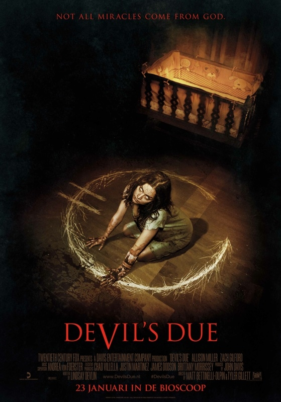 Devil's Due poster, © 2014 20th Century Fox