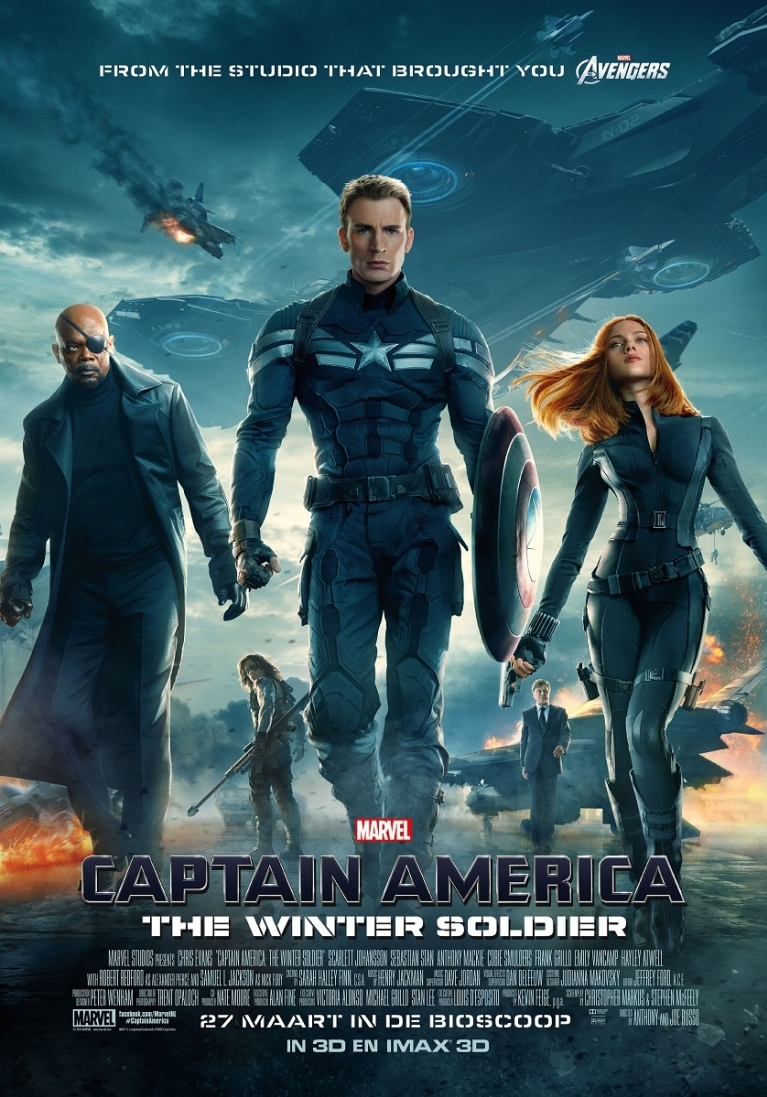 Captain America: The Winter Soldier poster, © 2014 Walt Disney Pictures