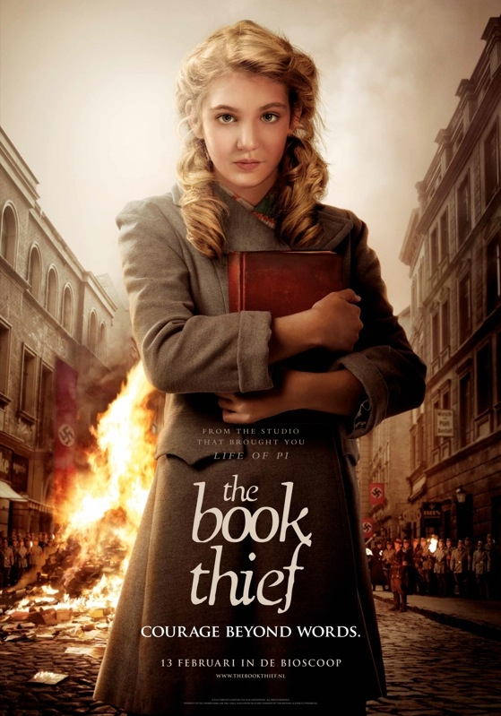 The Book Thief poster, © 2013 20th Century Fox