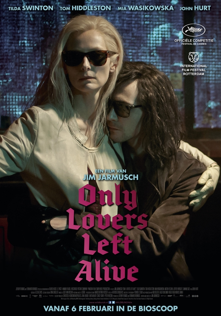 Only Lovers Left Alive poster, © 2013 Wild Bunch
