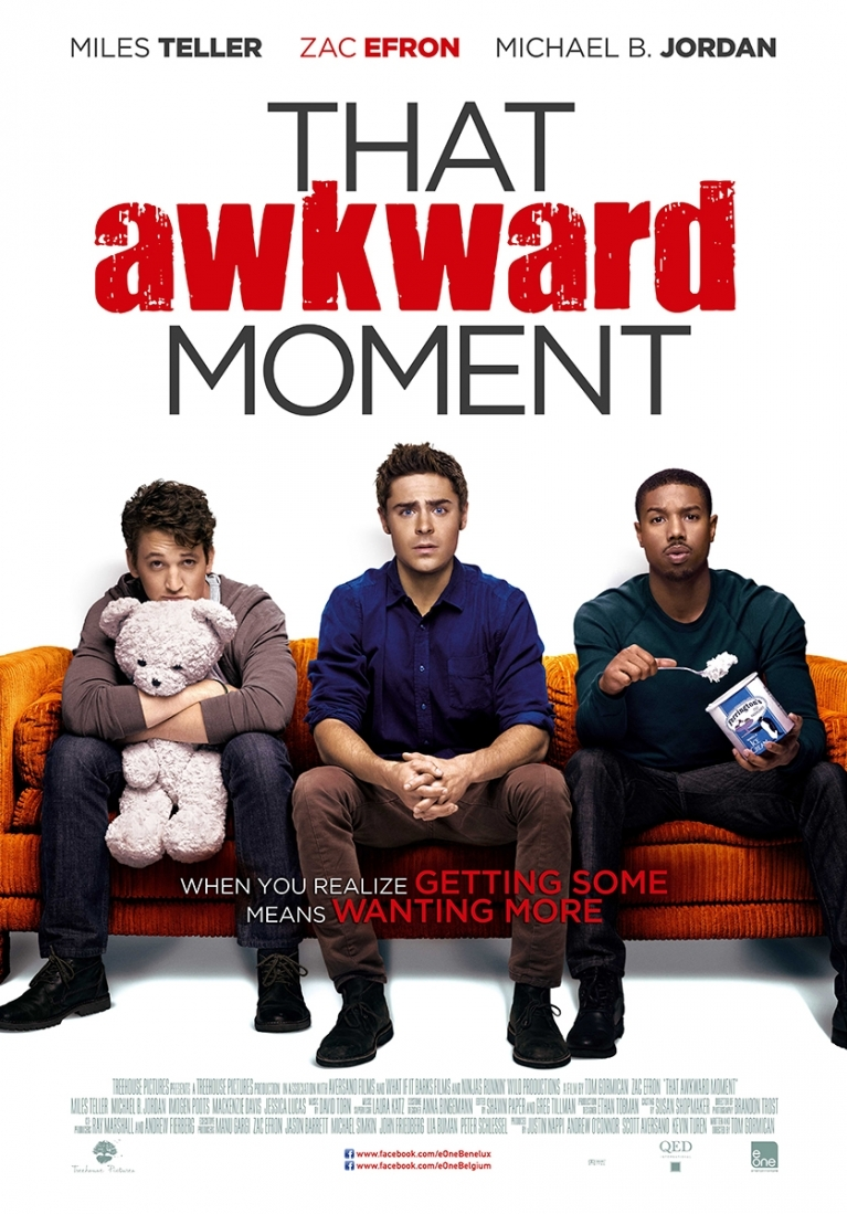 That Awkward Moment poster, © 2014 E1 Entertainment Benelux