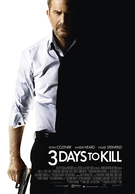 3 Days to Kill poster, © 2014 Independent Films