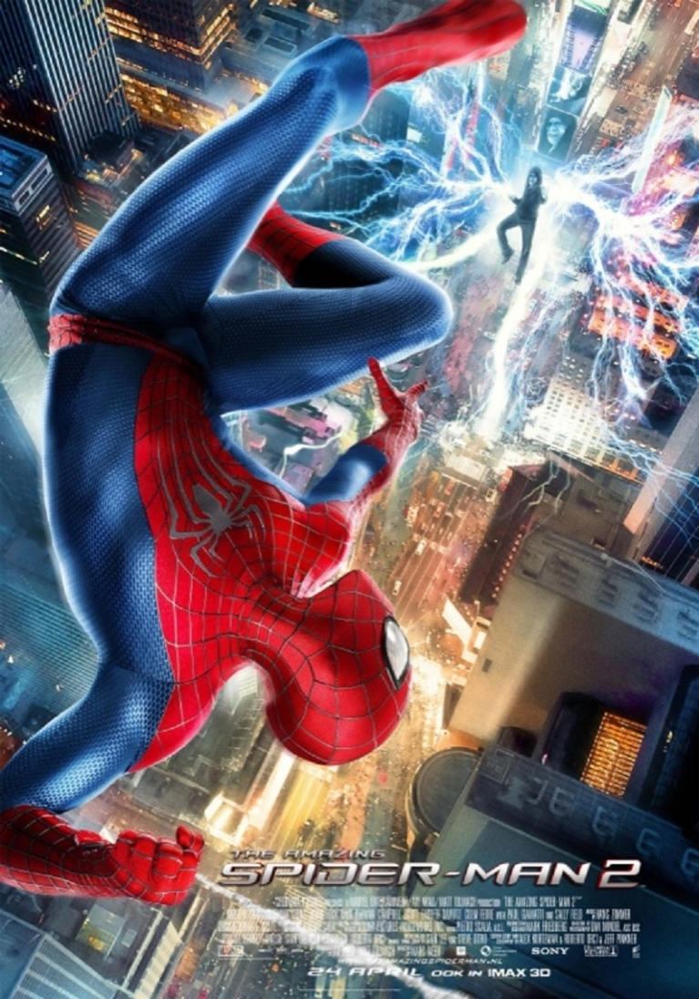The Amazing Spider-Man 2 poster, © 2014 Universal Pictures International