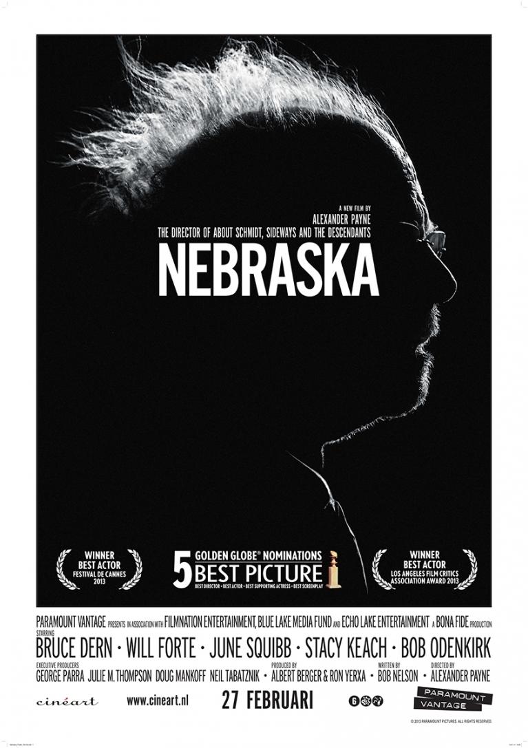 Nebraska poster, © 2013 Cinéart