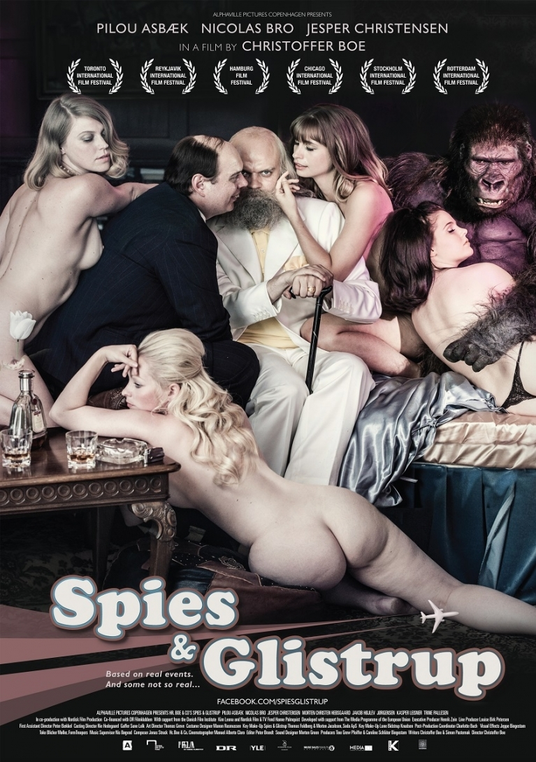 Spies & Glistrup poster, © 2013 Filmfreak Distributie