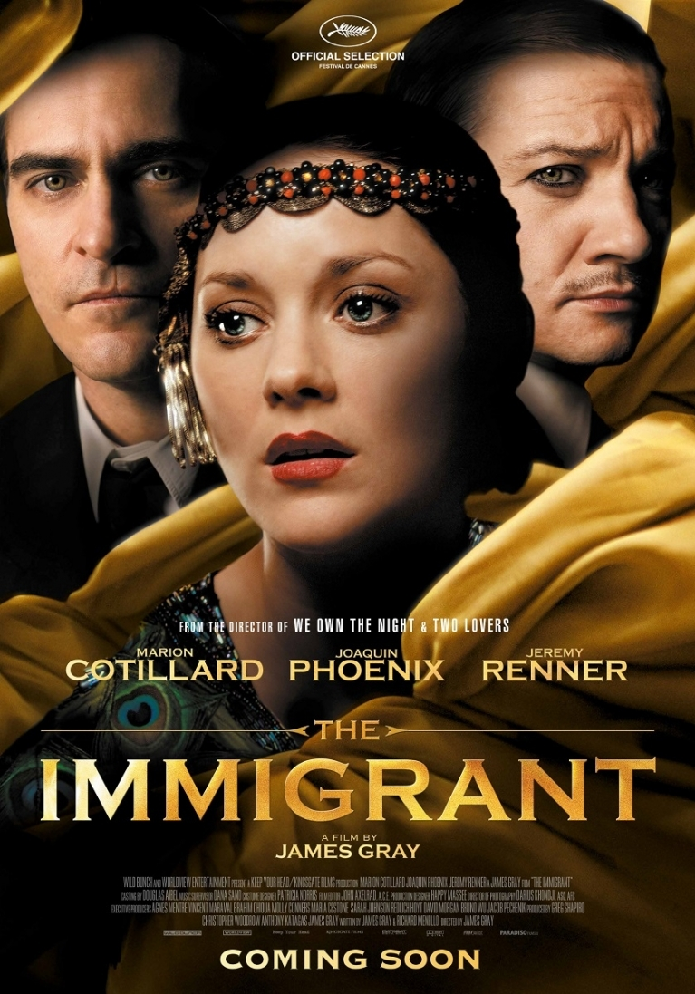 The Immigrant poster, © 2013 Paradiso