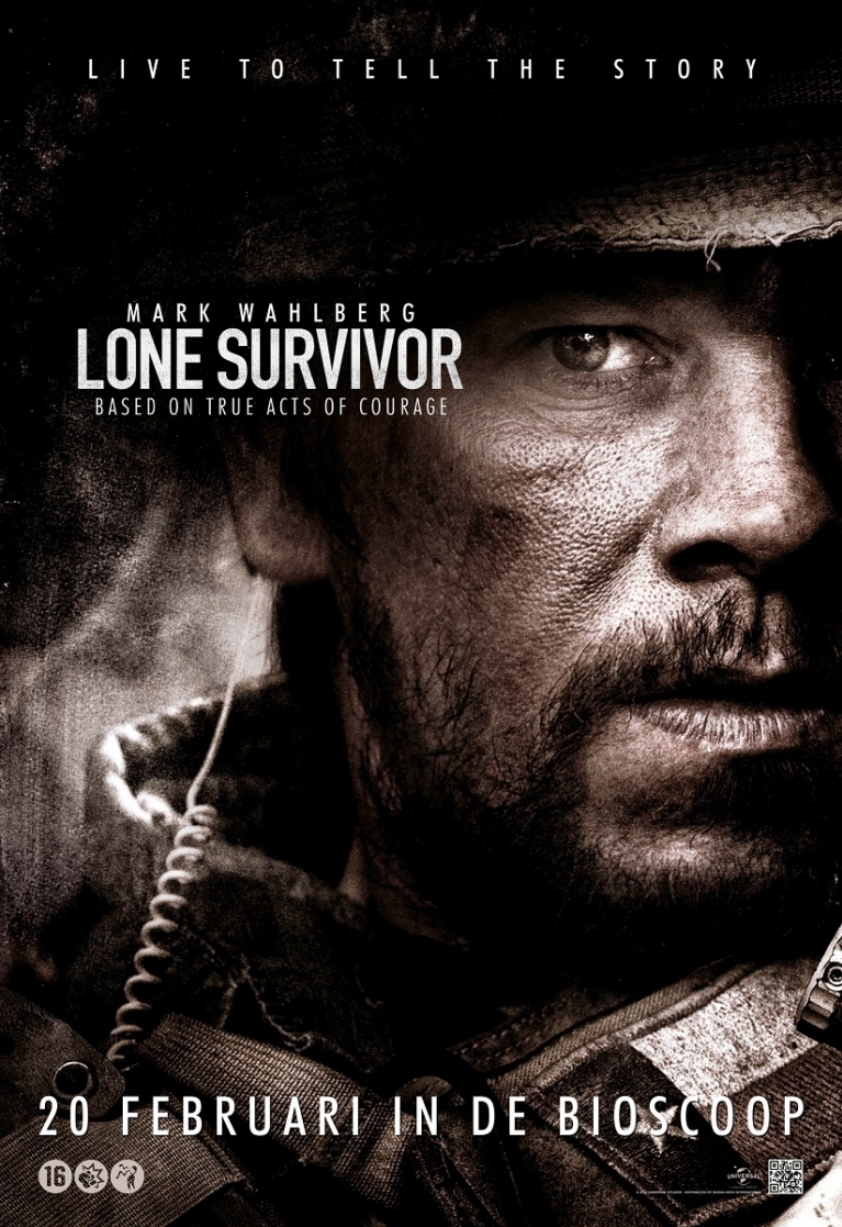 Lone Survivor poster, © 2013 Walt Disney Pictures