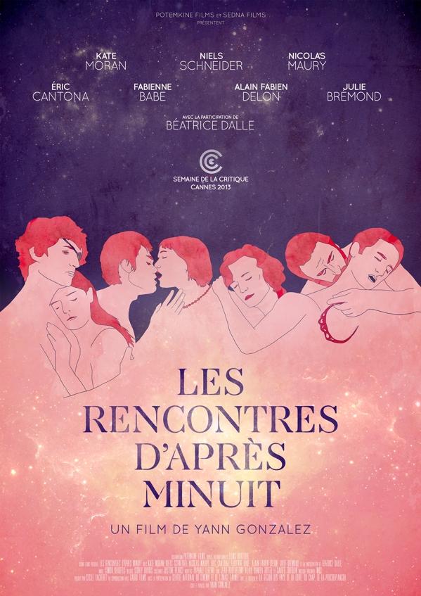 Les rencontres d'après minuit poster, copyright in handen van productiestudio en/of distributeur
