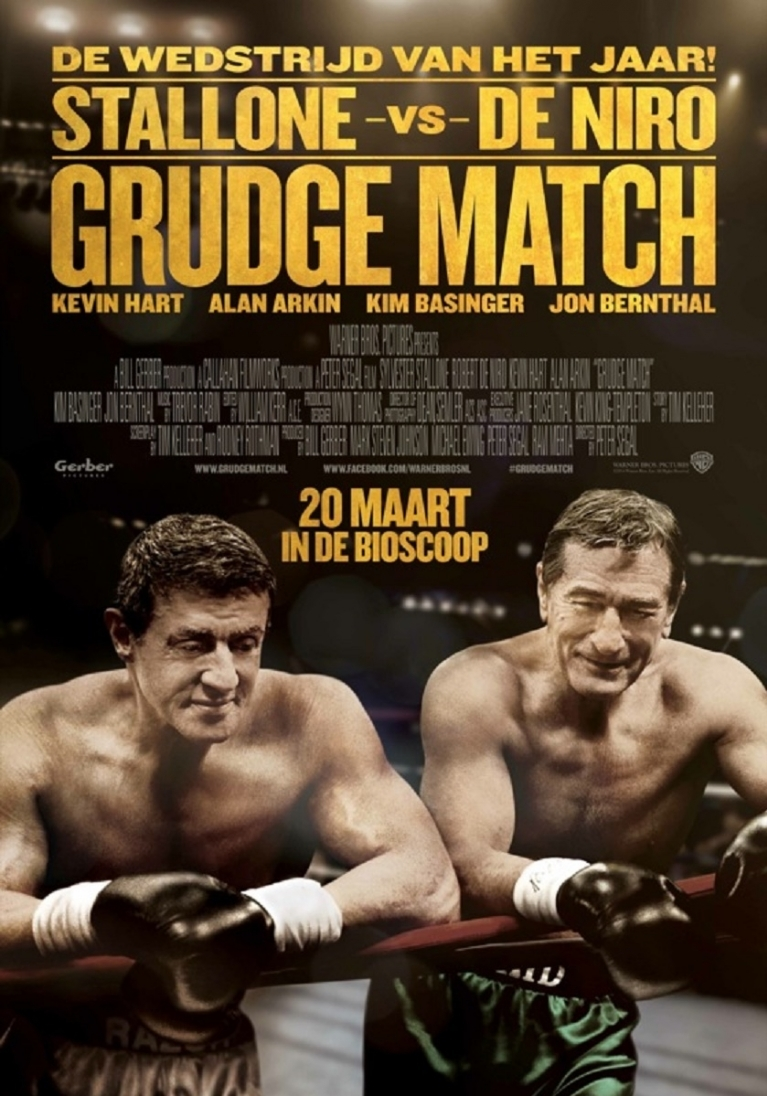 Grudge Match poster, © 2013 Warner Bros.