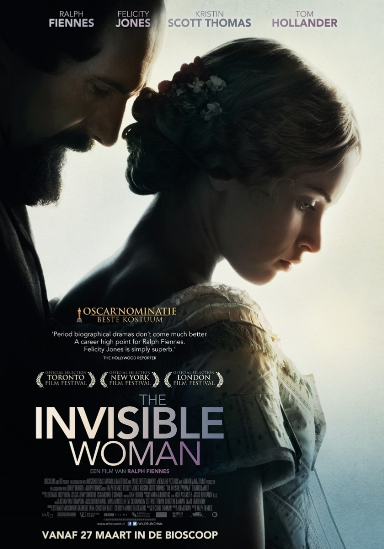 The Invisible Woman poster, © 2013 Wild Bunch