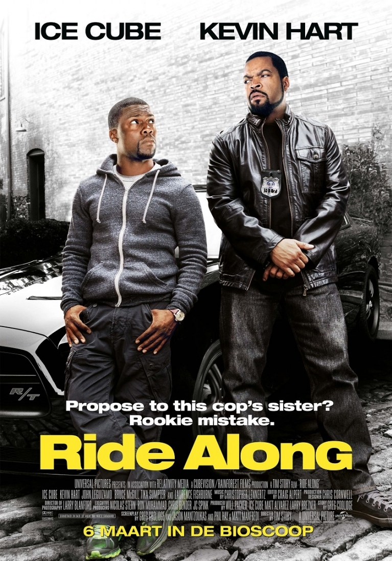 Ride Along poster, © 2014 Universal Pictures International