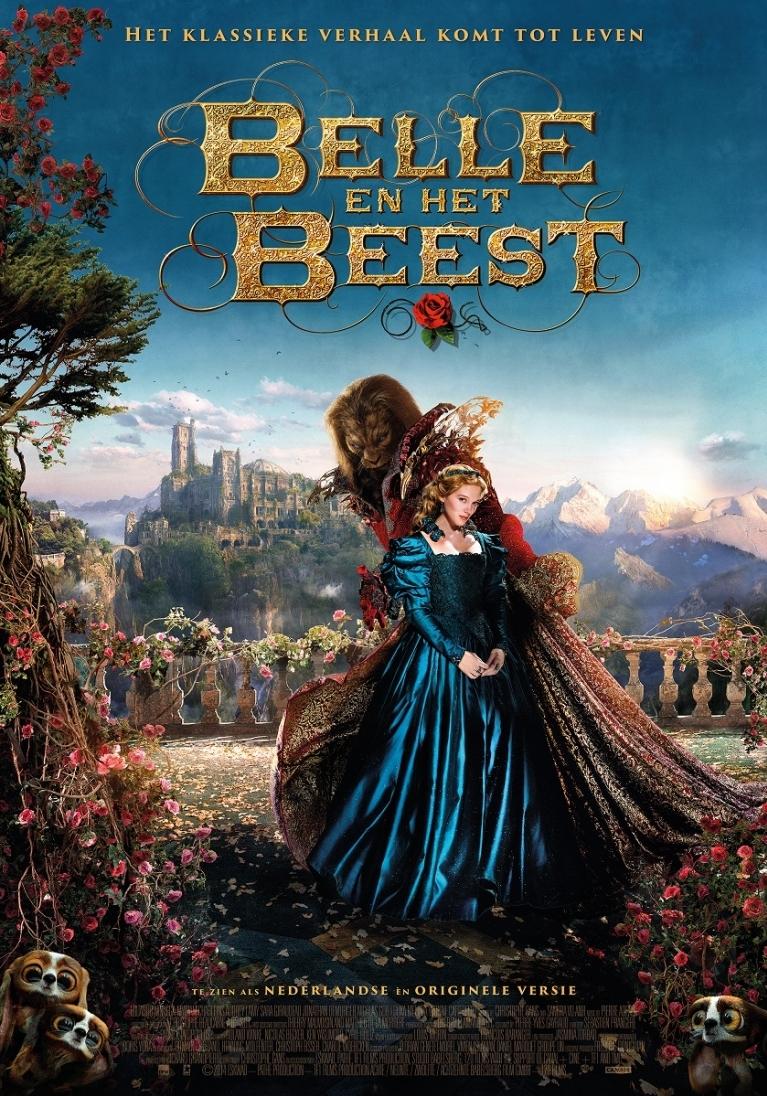 La belle & la bête poster, © 2014 Dutch FilmWorks