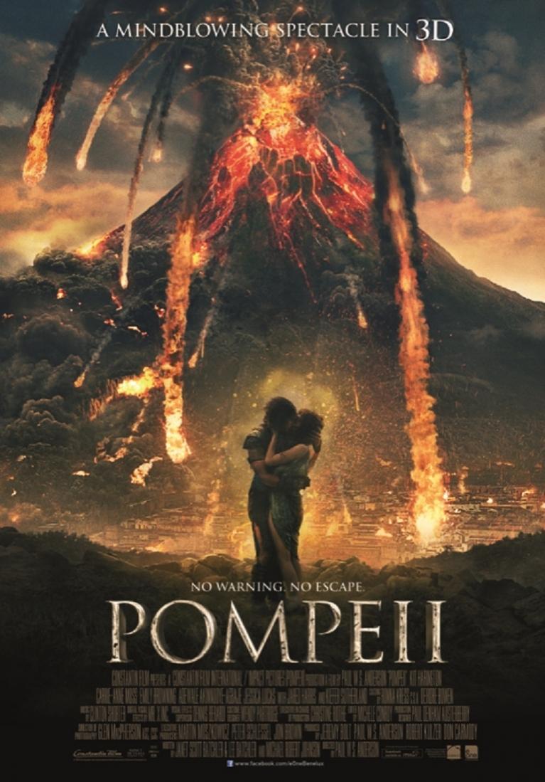 Pompeii poster, © 2014 E1 Entertainment Benelux