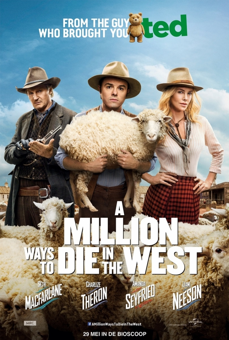 A Million Ways to Die in the West poster, © 2014 Universal Pictures