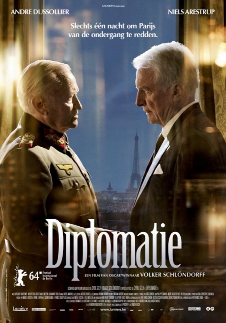 Diplomatie poster, © 2014 Lumière