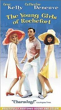 Amerikaanse poster 'Les Demoiselles de Rochefort' © 2002 Filmmuseum