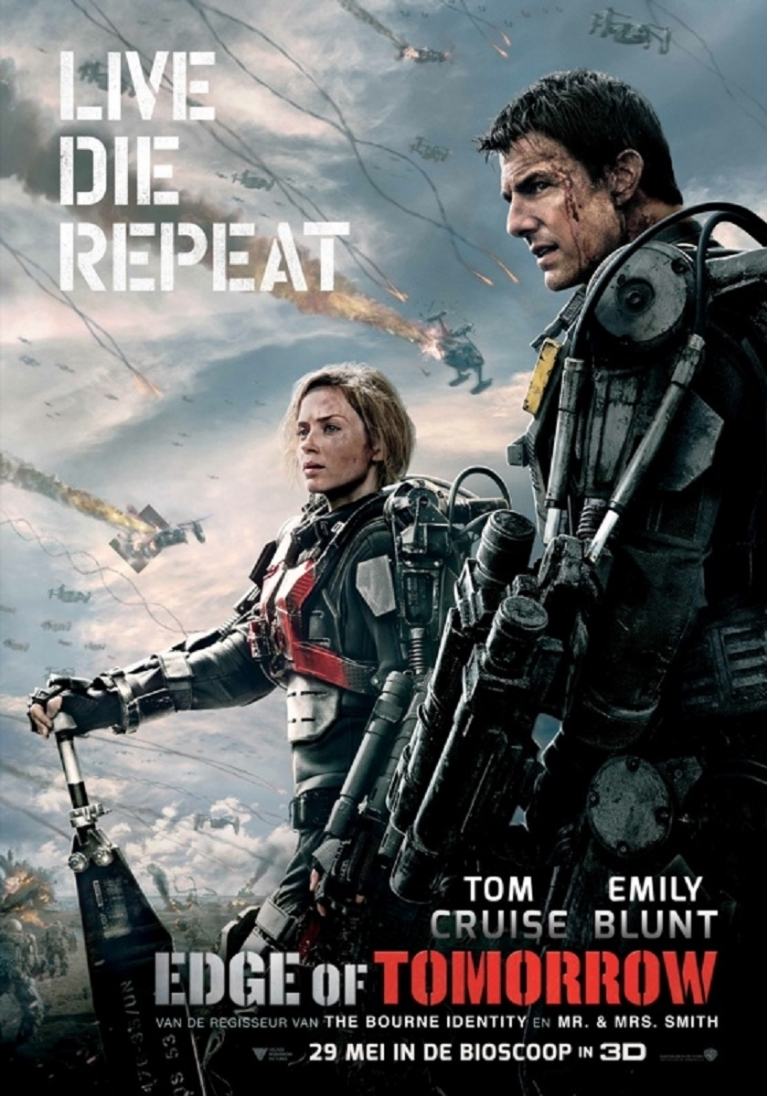 Edge of Tomorrow poster, © 2014 Warner Bros.
