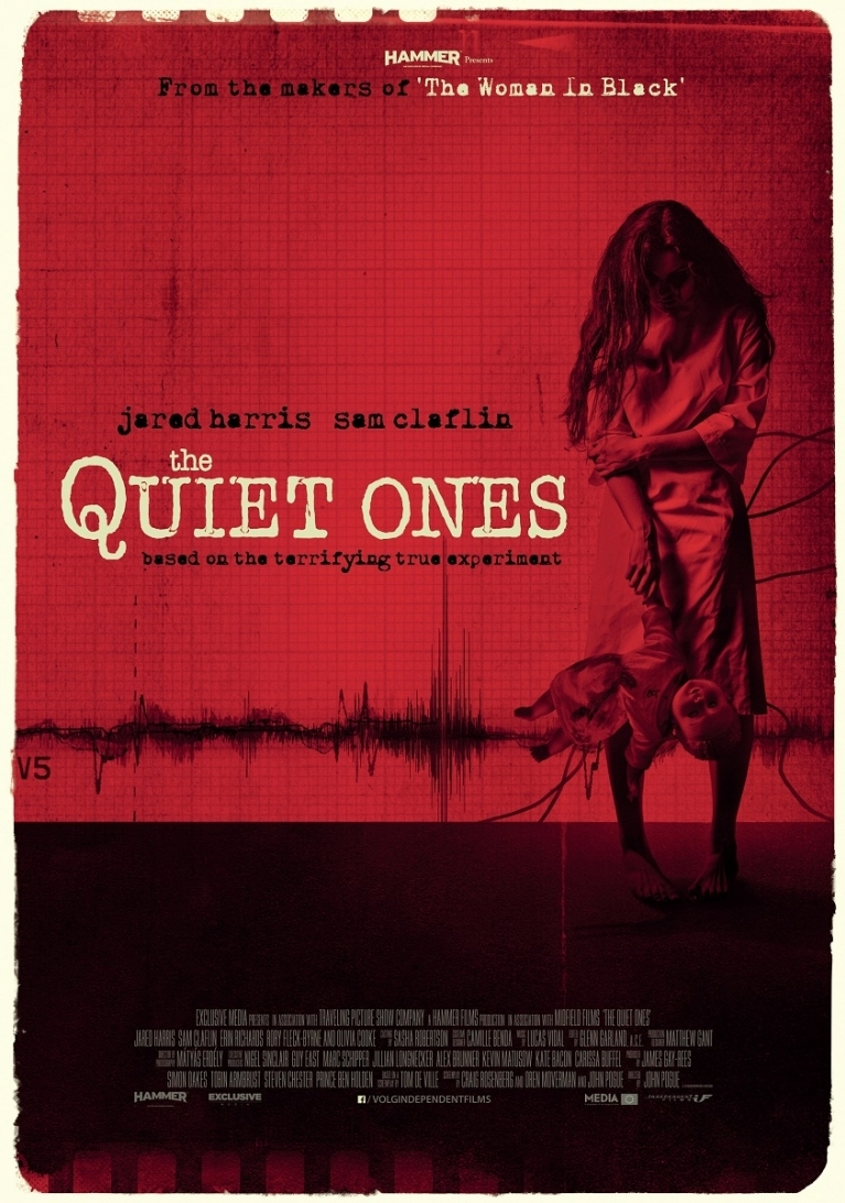 The Quiet Ones poster, © 2014 Independent Films