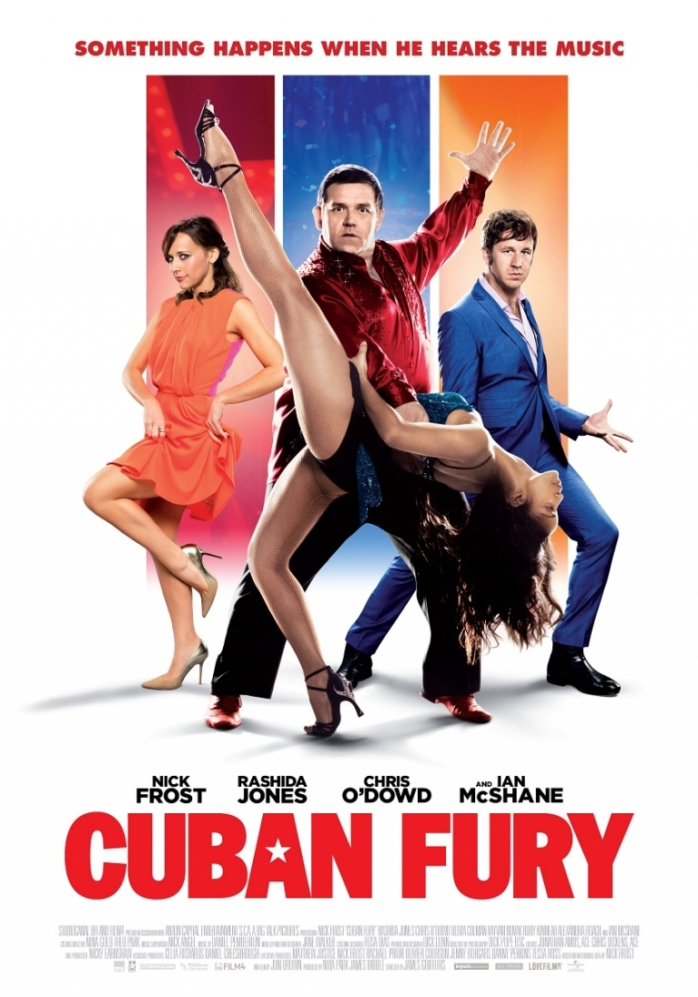 Cuban Fury poster, © 2014 Dutch FilmWorks