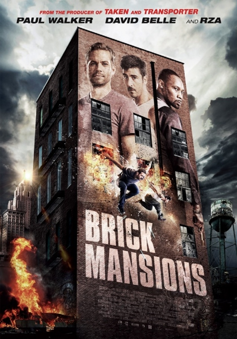 Brick Mansions poster, © 2014 Dutch FilmWorks