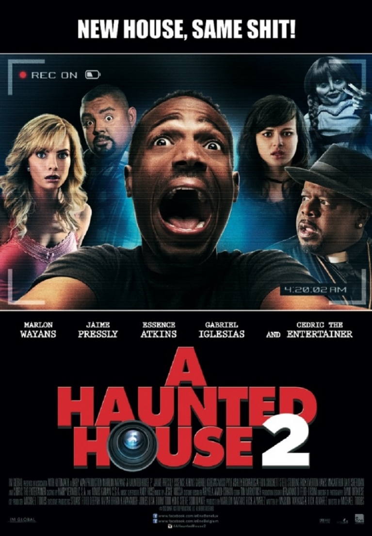 A Haunted House 2 poster, © 2014 E1 Entertainment Benelux