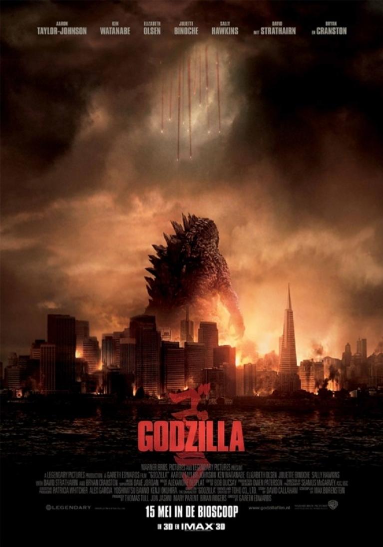 Godzilla poster, © 2014 Warner Bros.