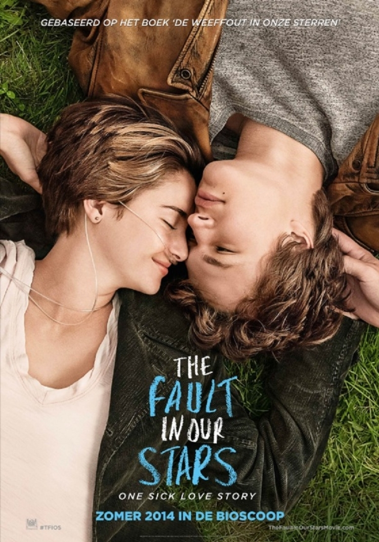 The Fault in Our Stars poster, © 2014 20th Century Fox