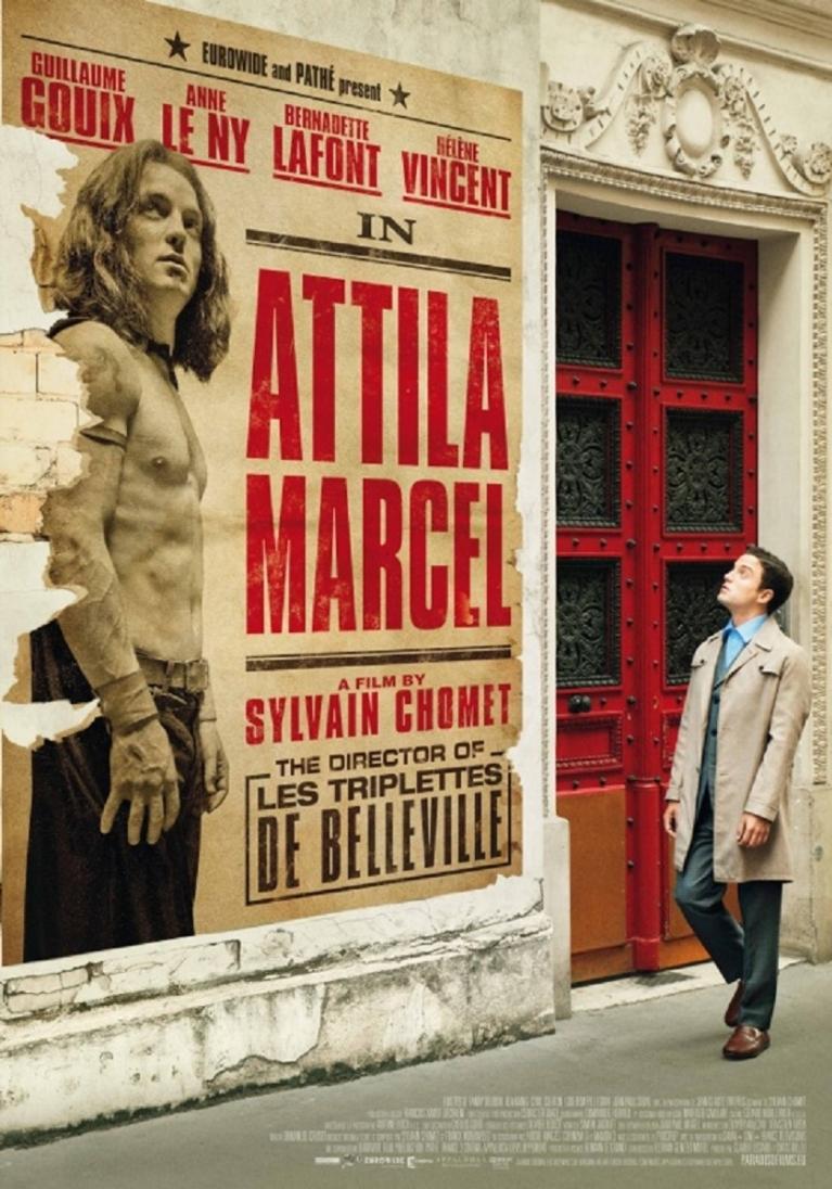 Attila Marcel poster, © 2013 Paradiso