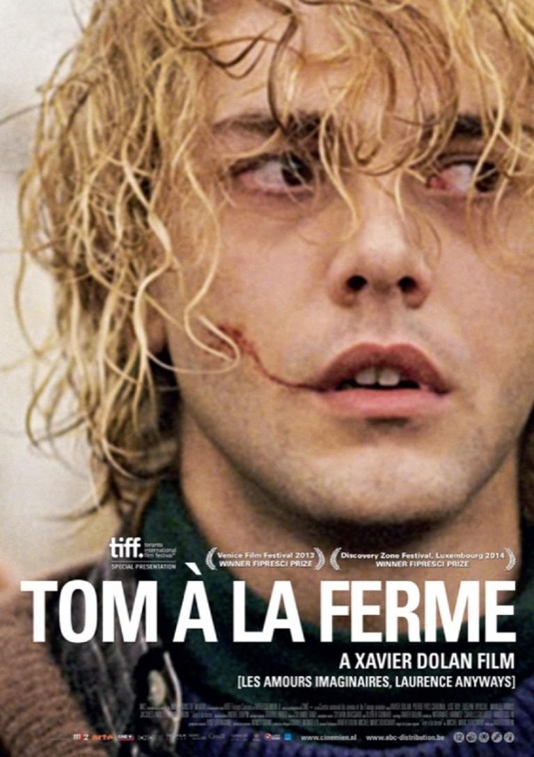 Tom à la ferme poster, © 2013 Cinemien
