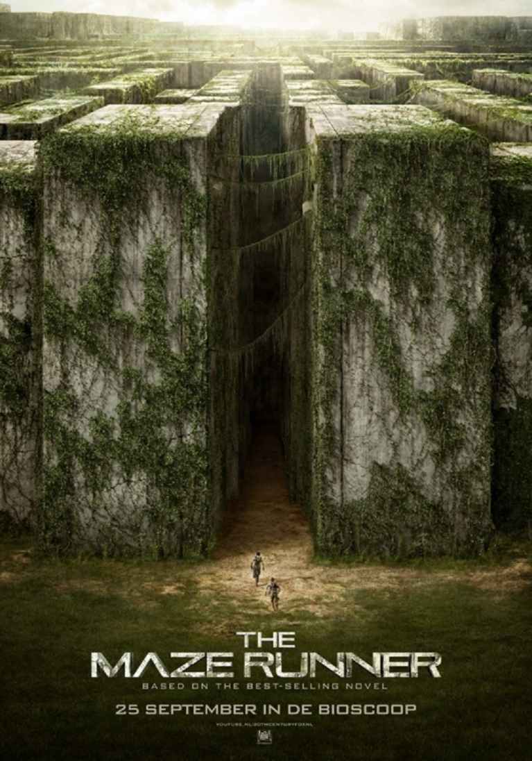 The Maze Runner poster, © 2014 20th Century Fox