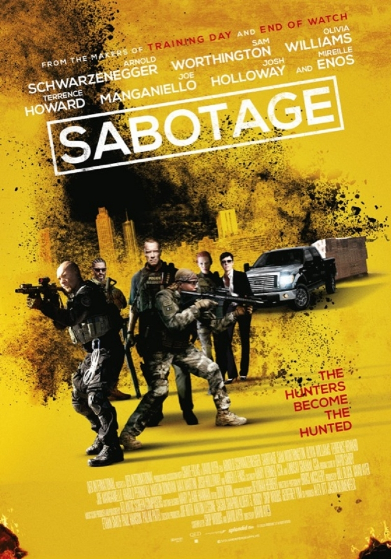 Sabotage poster, © 2014 Independent Films
