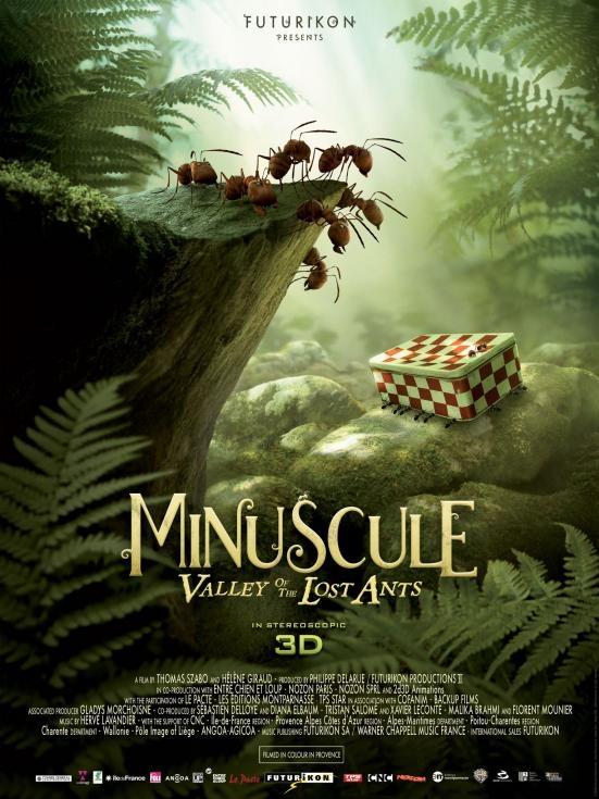 Minuscule poster, © 2014 Cinéart