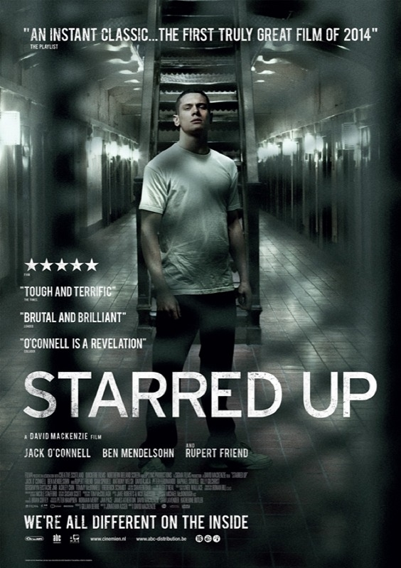 Starred Up poster, © 2013 Cinemien