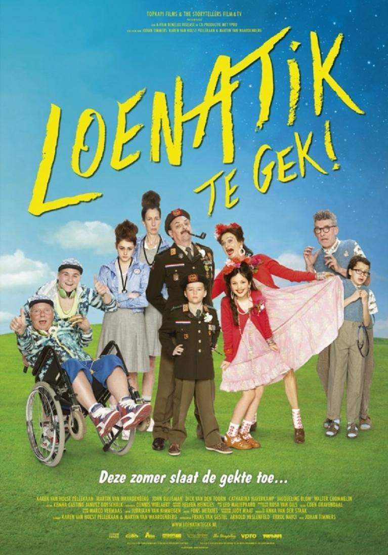 Loenatik, te gek! poster, © 2014 A-Film Distribution