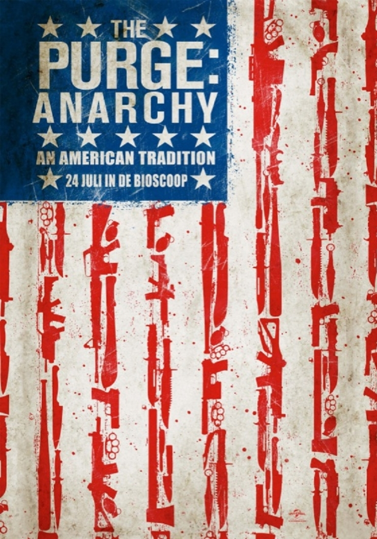 The Purge: Anarchy poster, © 2014 Universal Pictures