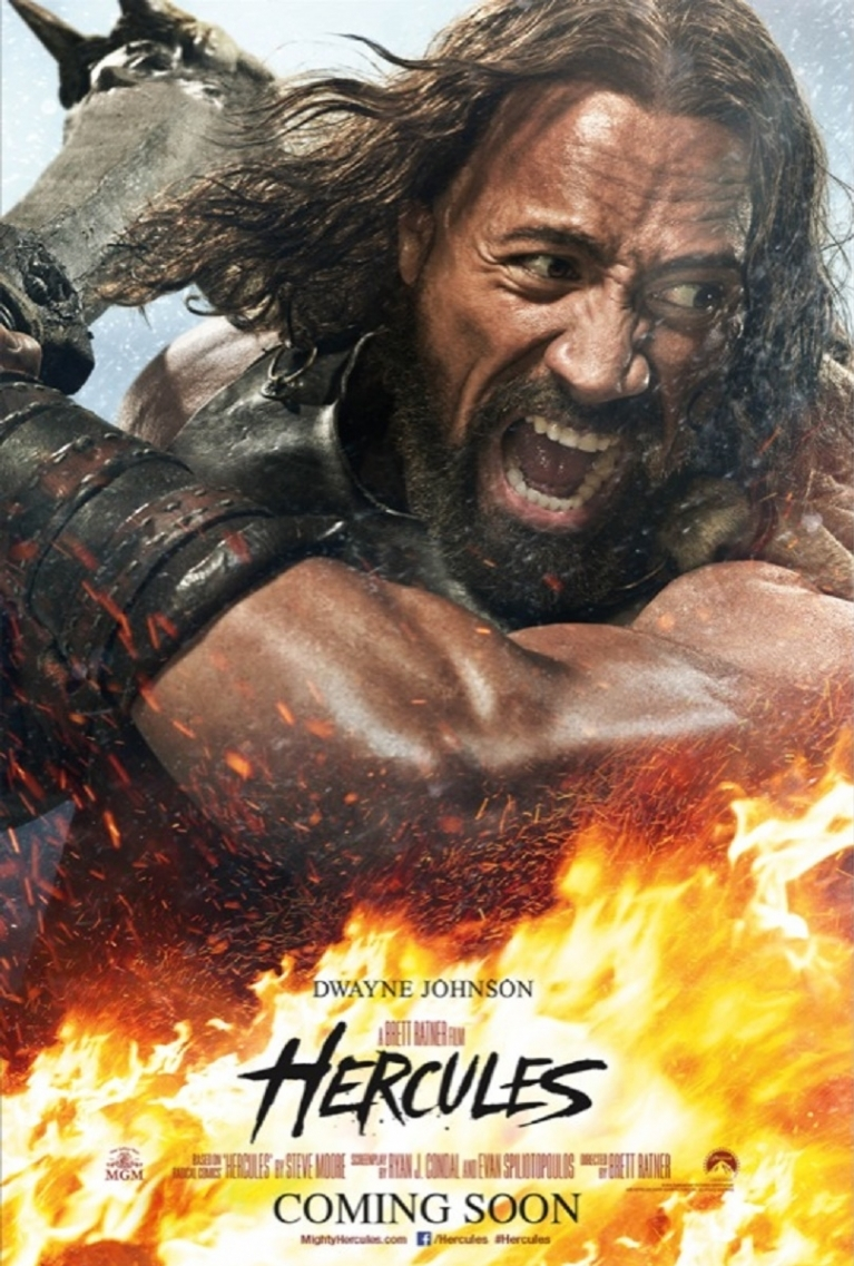 Hercules poster, © 2014 Universal Pictures International