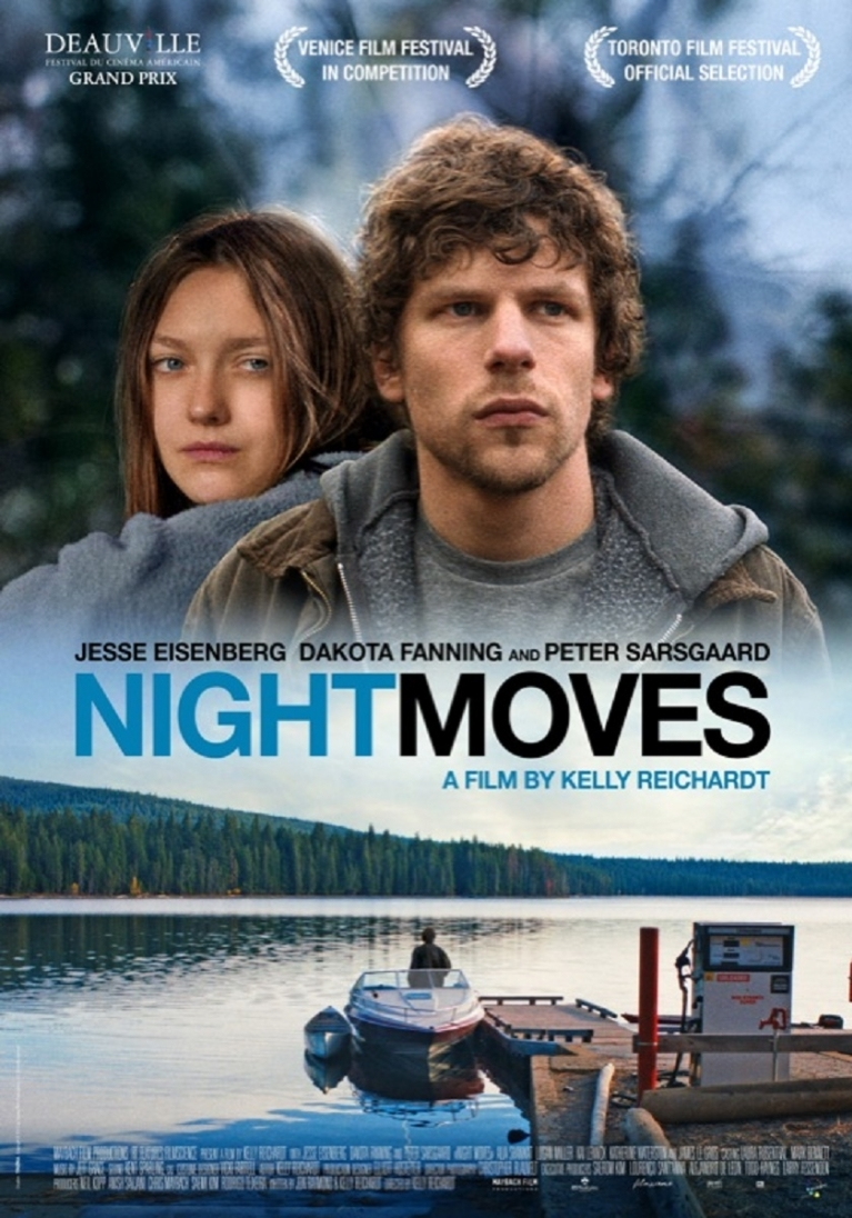 Night Moves poster, © 2013 Imagine