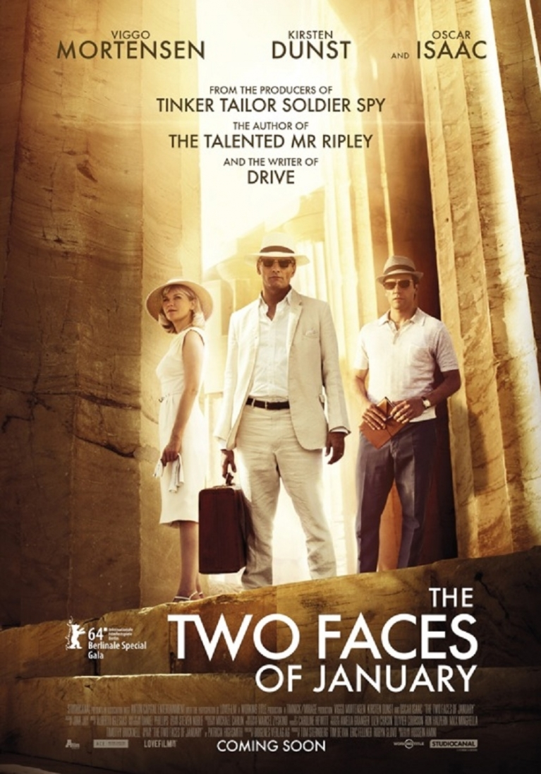 The Two Faces of January poster, © 2014 A-Film Distribution