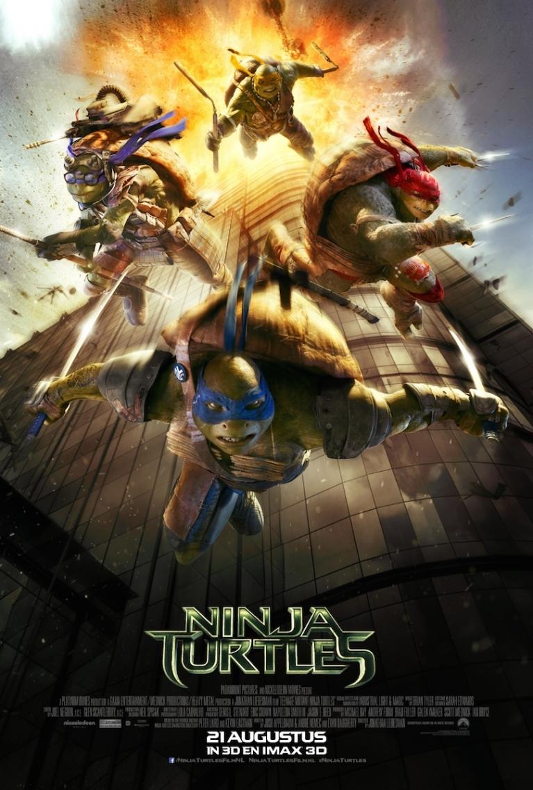 Teenage Mutant Ninja Turtles poster, © 2014 Universal Pictures