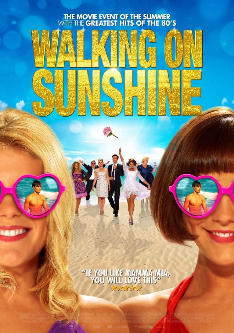 Walking on Sunshine poster, © 2014 Dutch FilmWorks