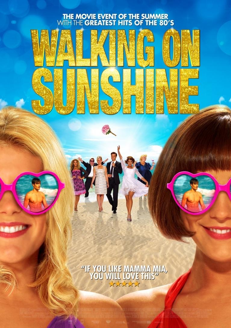 Walking on Sunshine poster, © 2014 Dutch FilmWorks