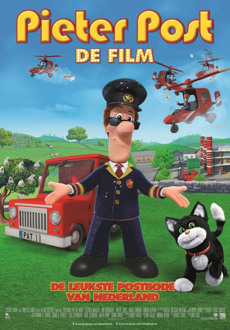 Postman Pat: The Movie poster, © 2014 E1 Entertainment Benelux